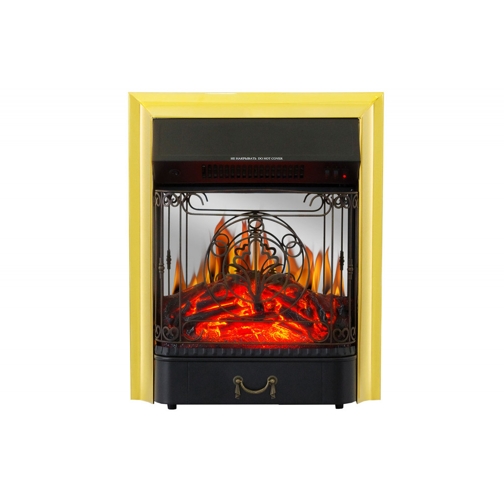 Электрокамин Royal Flame Majestic FX M Brass - Фото № 1
