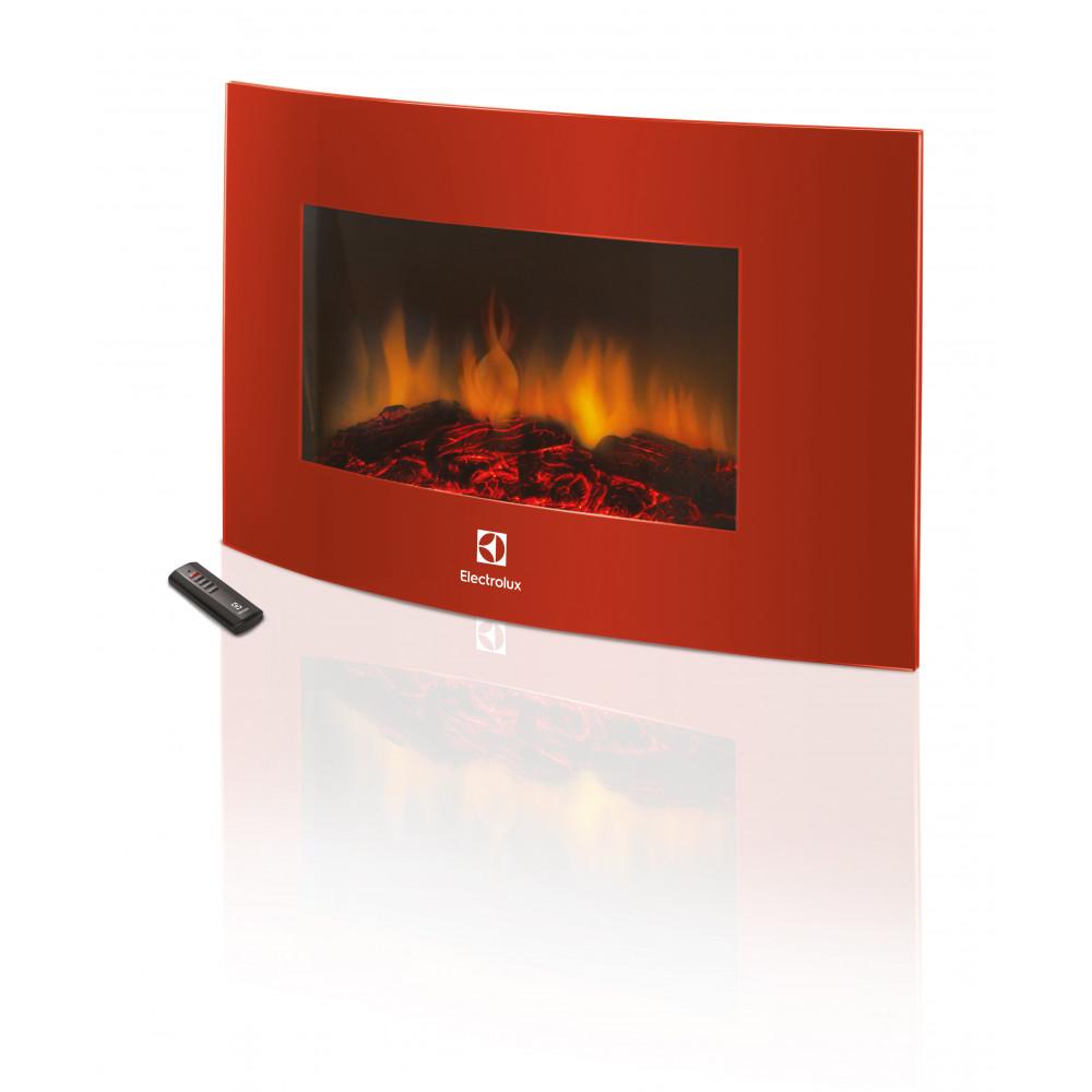 Электрокамин Electrolux EFP/W-1200URLS Красный (НС-1070931) - Фото № 2
