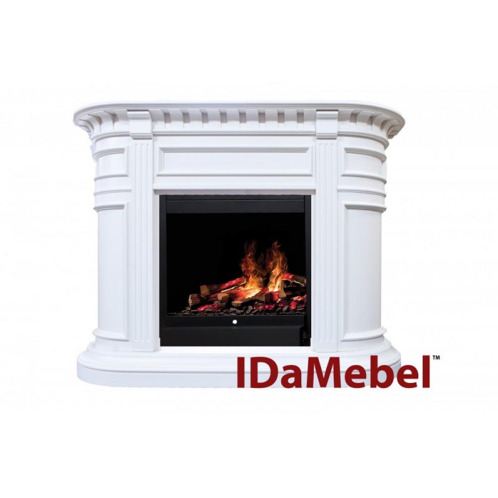Каминокомплект IDaMebel Carlyle White - Фото № 1