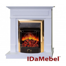 Каминокомплект IDaMebel Michelle Gold