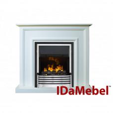 Каминокомплект IDaMebel Adele Белый Flagstaff