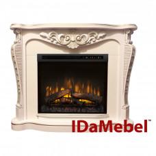 Каминокомплект IDaMebel Dallas White Dimplex XHD28