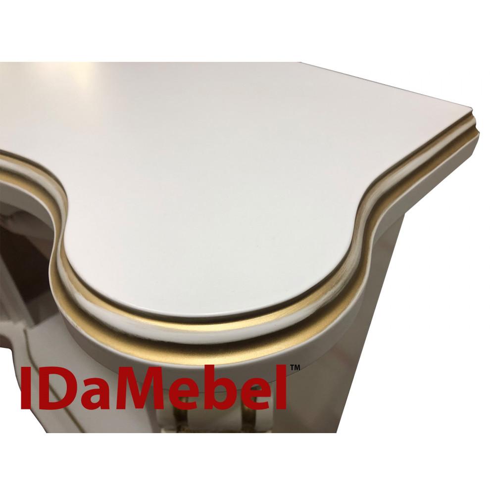 Каминокомплект IDaMebel Dallas White Dimplex XHD28 - Фото № 2