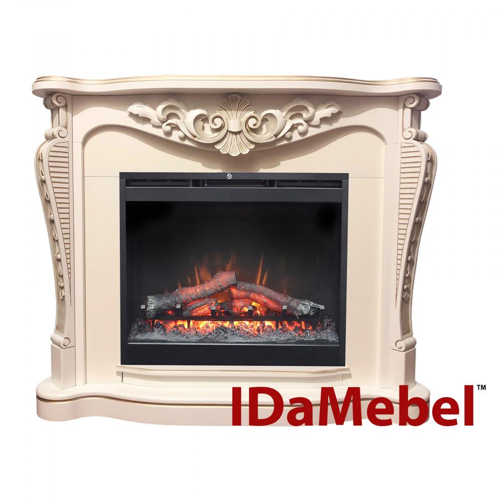 Каминокомплект IDaMebel Dallas White Symphony DF2624 - Фото № 1