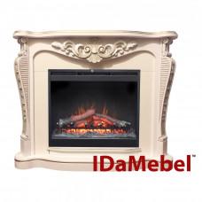 Каминокомплект IDaMebel Dallas White Symphony DF2624