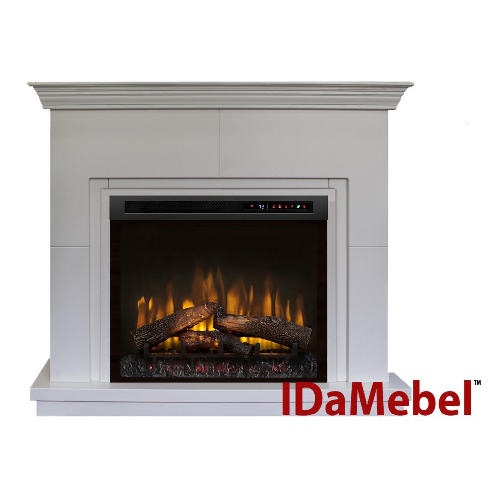 Каминокомплект IDaMebel Montreal XHD28L-INT Белый - Фото № 1