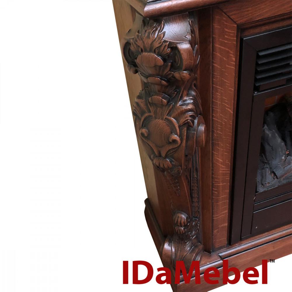 Каминокомплект IDaMebel Seville дуб VA-2683 - Фото № 3