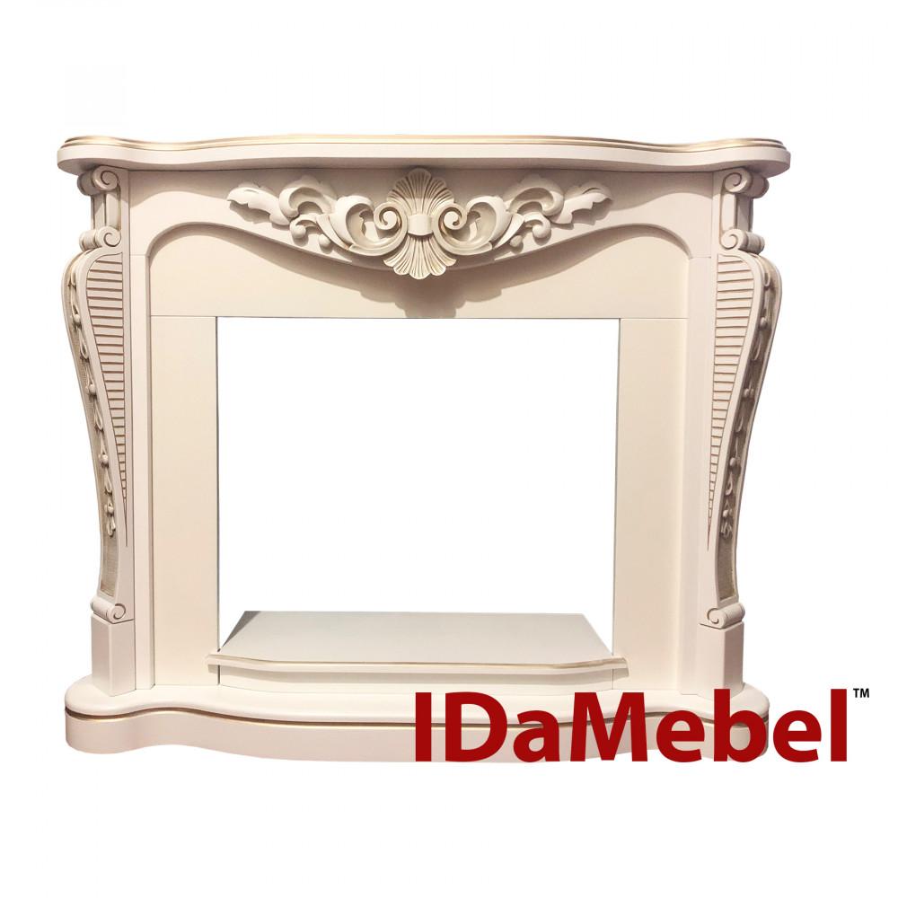 Портал IDaMebel Dallas White с патиной-золото - Фото № 1