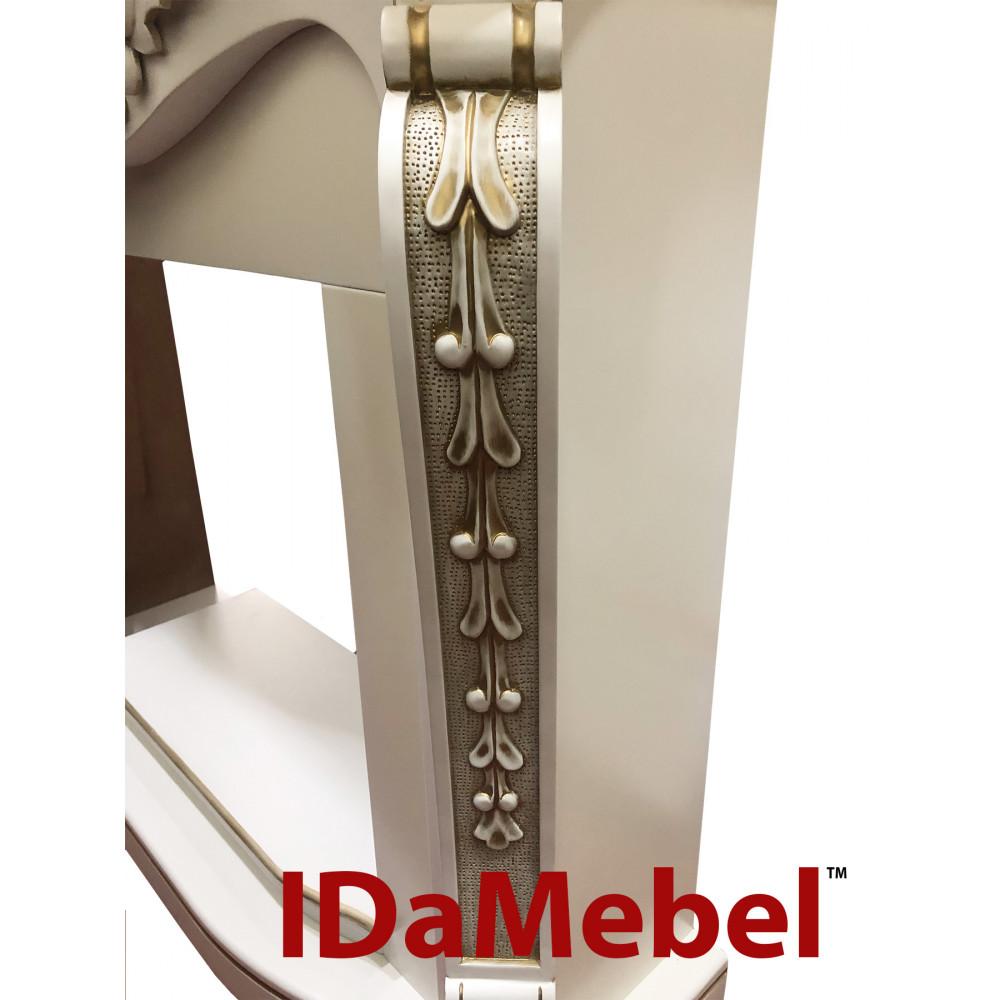 Портал IDaMebel Dallas White с патиной-золото - Фото № 3